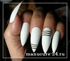 Белые ногти, белый маникюр, красивые фото вариантов 2021