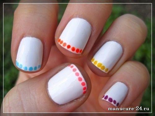 Маникюр и дизайн коротких ногтей для подростков, примеры и фото 2021