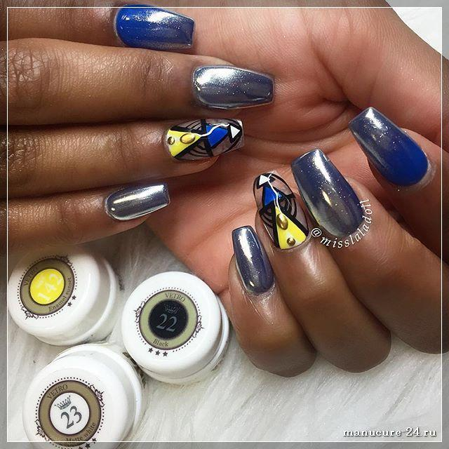 Дизайн длинных ногтей, лучшие 100 фото идей 2018
