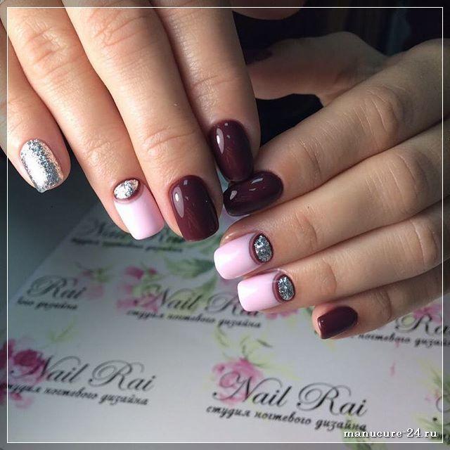 Гель-лак: дизайн ногтей с лунками