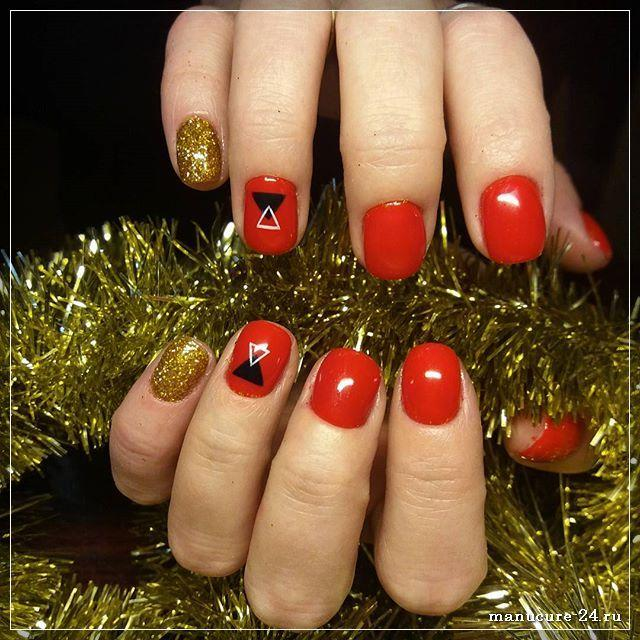 Идеи для новогоднего маникюра: как блистать на празднике?