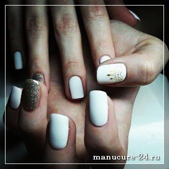Гель-лак белого цвета: особенности покрытия
