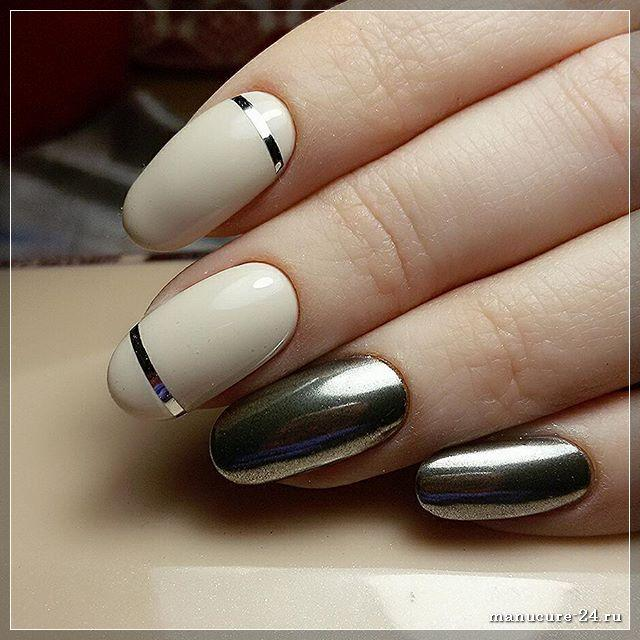 Ленты в дизайне ногтей: интересные идеи
