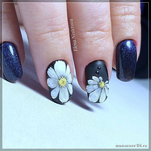 Роспись ногтей: интересные идеи