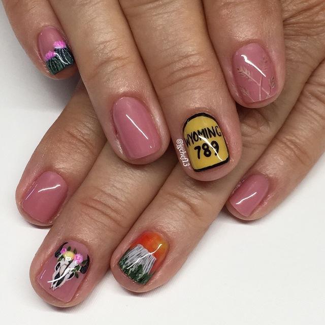 Яркие выраженные ногти, в маникюре 2019, фото варианты и образцы