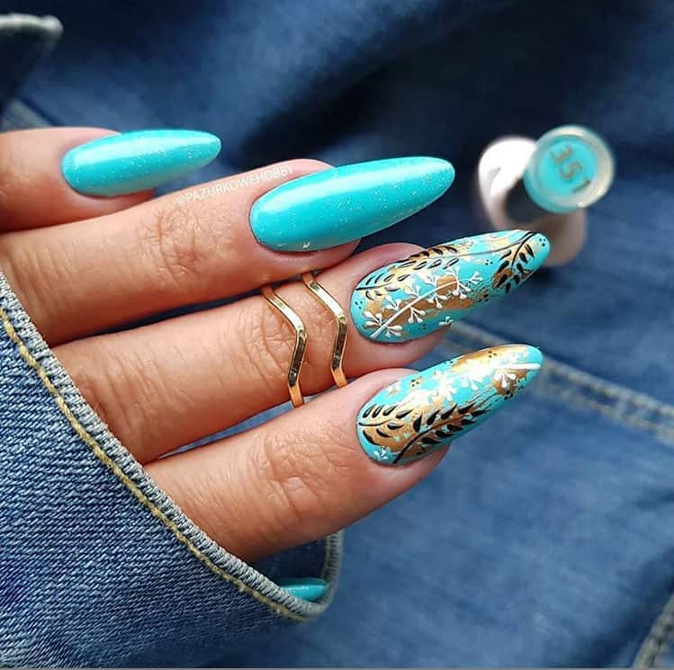 Blue Nails 2021: Best 23 New Awesome Styles and Trends | Stylish Nails