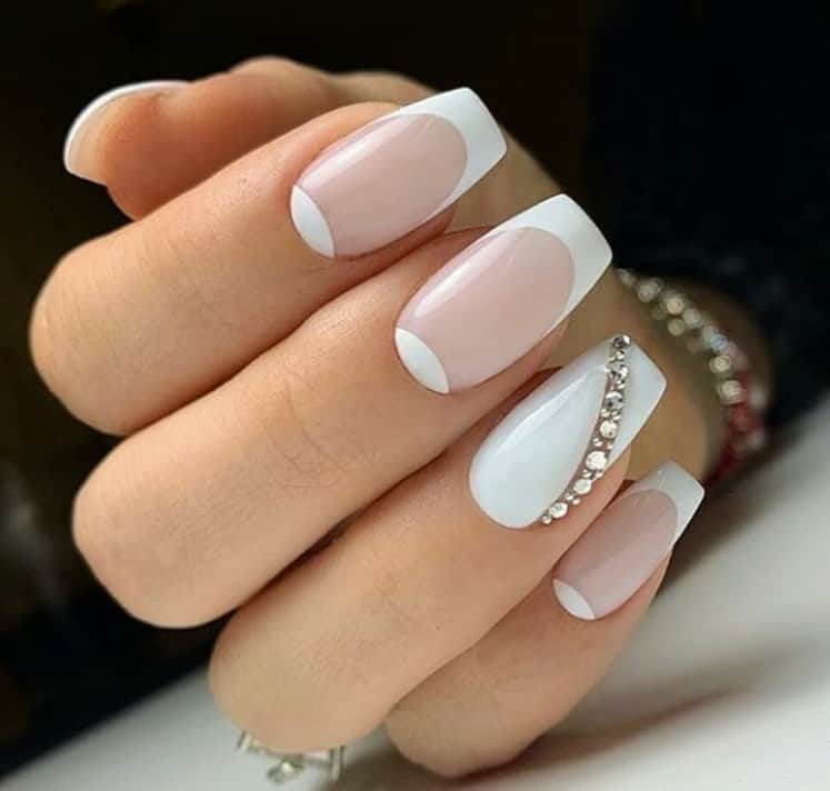 Top 29 Gorgeous Options for French Nails 2021 | Stylish Nails